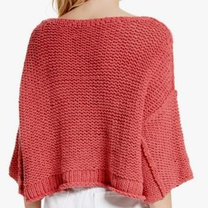 Free People Sweaters - Free People Halo Dolman Sleeve Pullover Coral